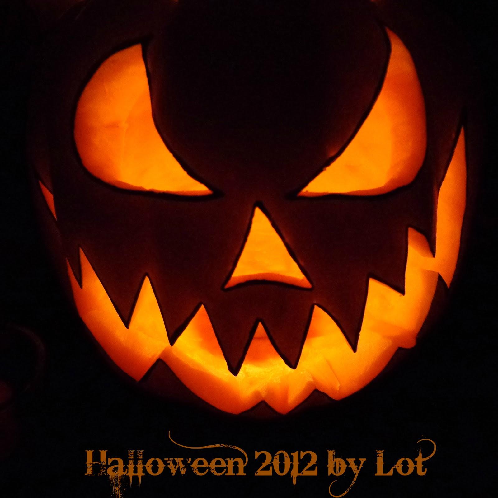 Semanas que pasan como d as calabaza halloween by lot - Calabazas pintadas para halloween ...