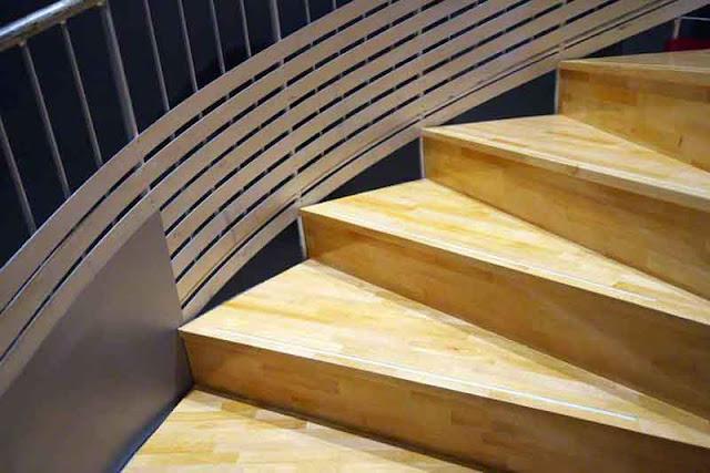 spiral, staircase, museum, Eisa, Okinawa
