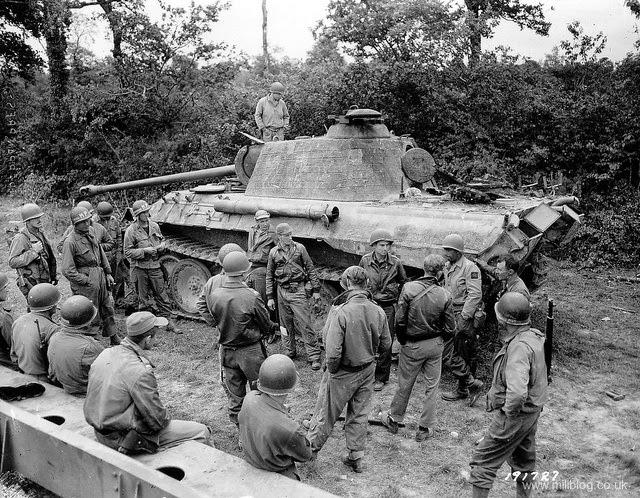 Panther tank panzer V worldwartwo.filminspector.com