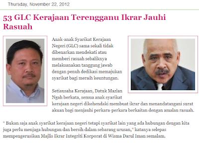 Inisiatif kerajaan negeri memberi ruang Suruhanjaya Pencegah Rasuah  Malaysia (SPRM) menyampaikan taklimat mengenai langkah pencegahan dan  memerangi gejala ... 41f079d188