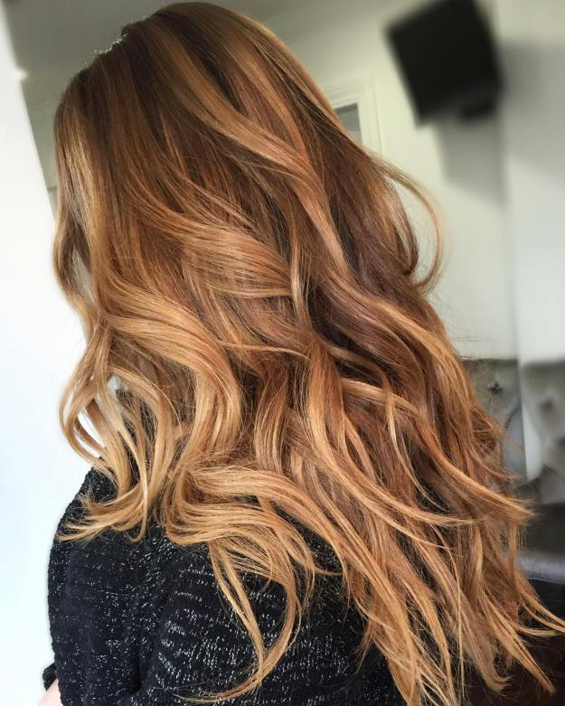 Trendy Caramel Hair Color For 2018 Hairstyles Hair Color For
