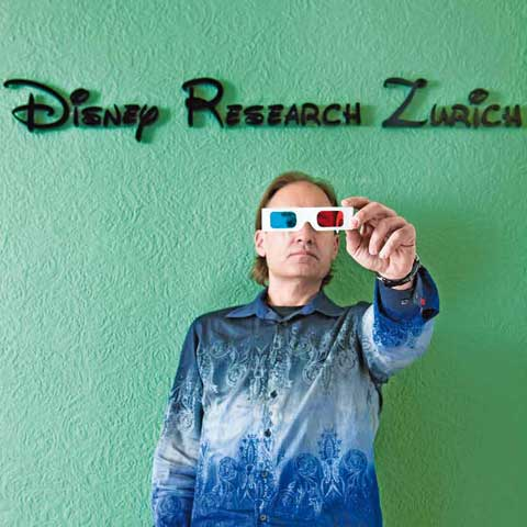 Prof. Markus Gross, ETH and Disney Research Zurich