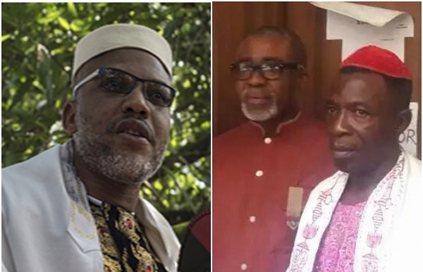 Image result for Breaking: Abaribe seeks to withdraw as Nnamdi Kanu's Surety