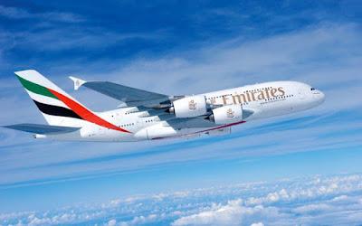عروض الصيف لطيران الخطوط الجوية الإماراتية لجميع رحلات الدولى