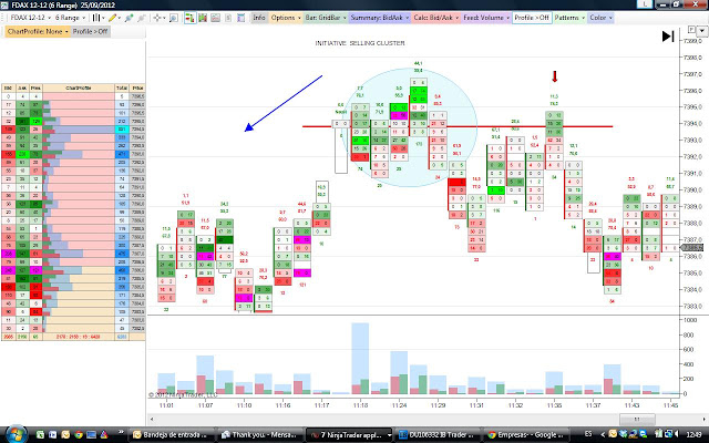 Market Profile and Order Flow Scalper: septiembre 2012