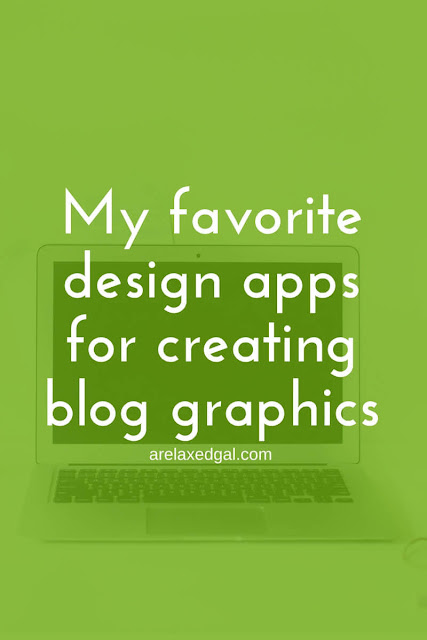 Enhance your blog posts by creating great looking graphics with these design apps. | arelaxedgal.com