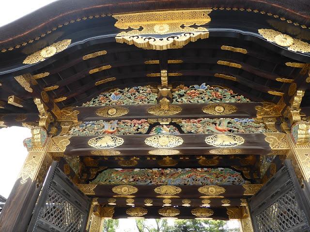 Puerta del Palacio Nijo
