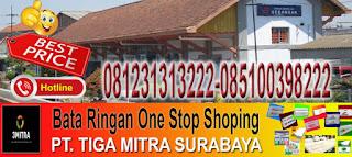 informasi dan pemesanan bata ringan di Kecamatan Gedangan Kabupaten Sidoarjo