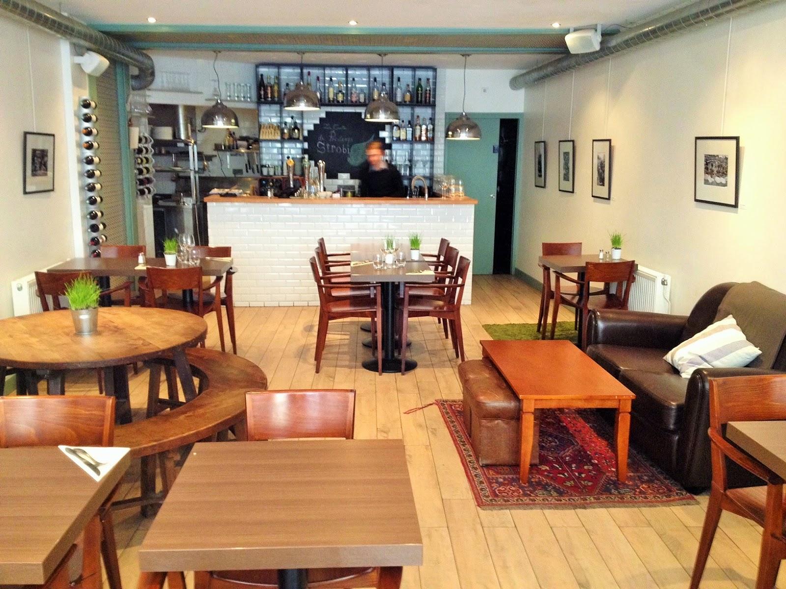 Le Strobi - restaurant - Paris place de clichy