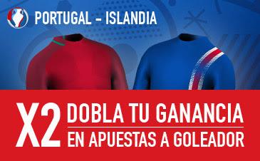 sportium bono 25 euros Eurocopa 2016 Portugal vs Islandia 14 junio