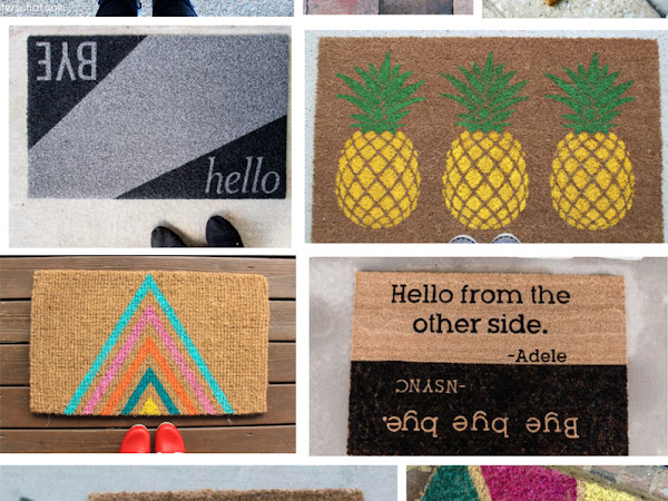 15+ DIY Modern Doormats
