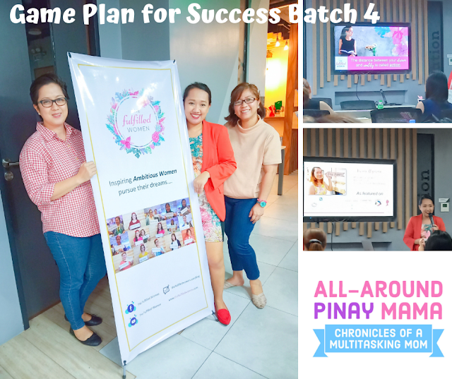 AAPM Events, Community of Women Philippines, Events PH, Workshops PH, Game Plan for Success Batch 4, The Fulfilled Women Community, Viviene Bigornia, All-Around Pinay Mama Blog, SJ Valdez