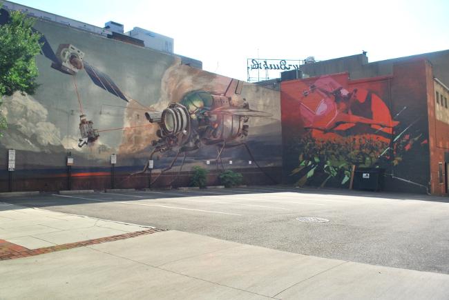 RVA Street Art: Richmond Mural Project 2014   Yeti Crafts