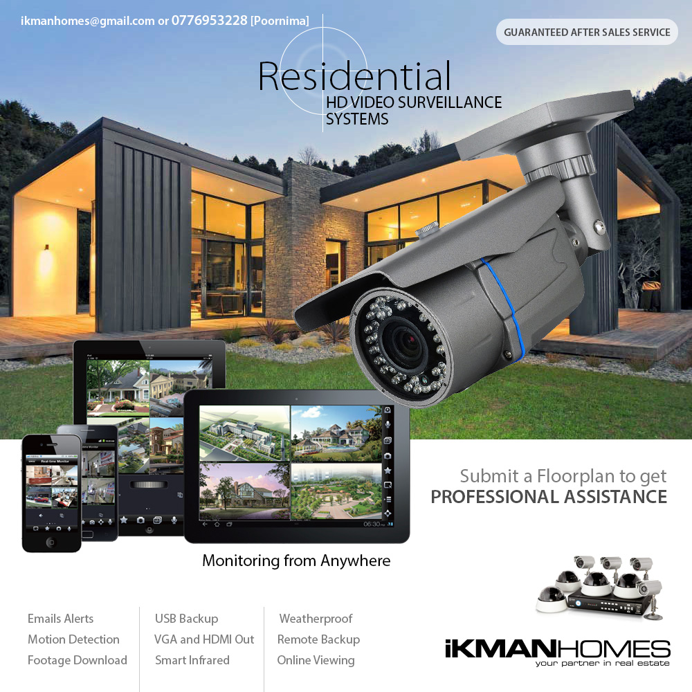 IkmanHomes: Residential IP Video Surveillance Camera Systems