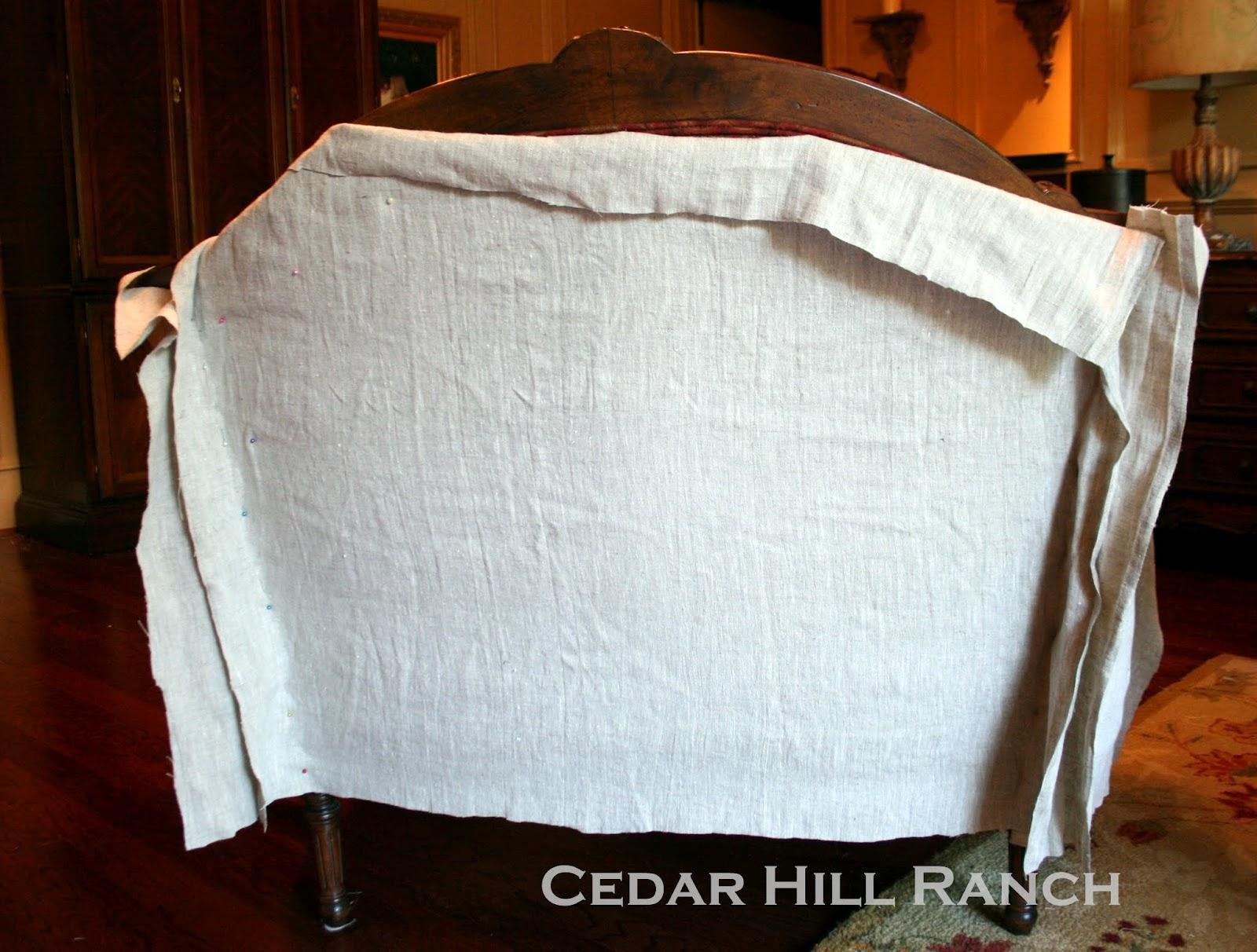My Slipcovering Tips Cedar Hill Farmhouse