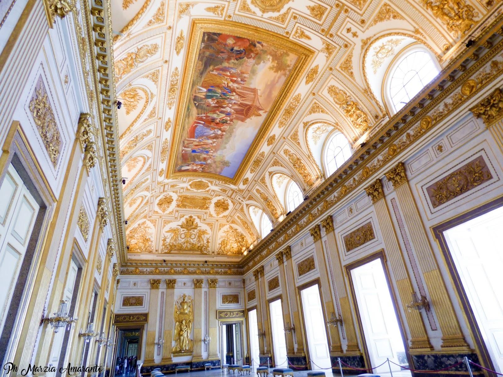Sala del trono Reggia di Caserta