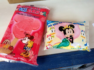 MINNIE ICE BAR and SEA SALT ICE CREAM MONAKA