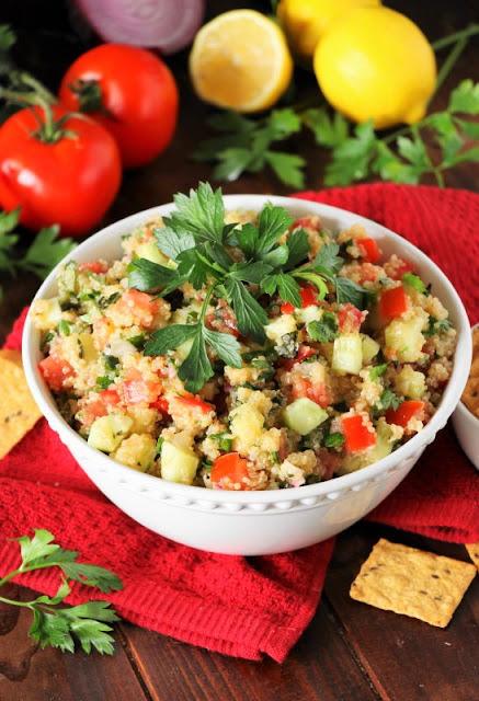 Quinoa Tabouli Image