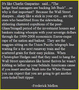 Hedge Fund Bush Wackers