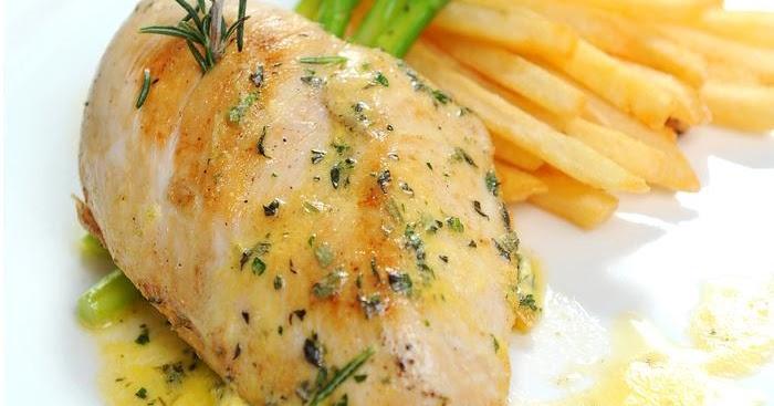 طريقة عمل الدجاج مع الثوم والليمون