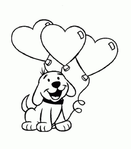 puppyluv coloring pages - photo #12
