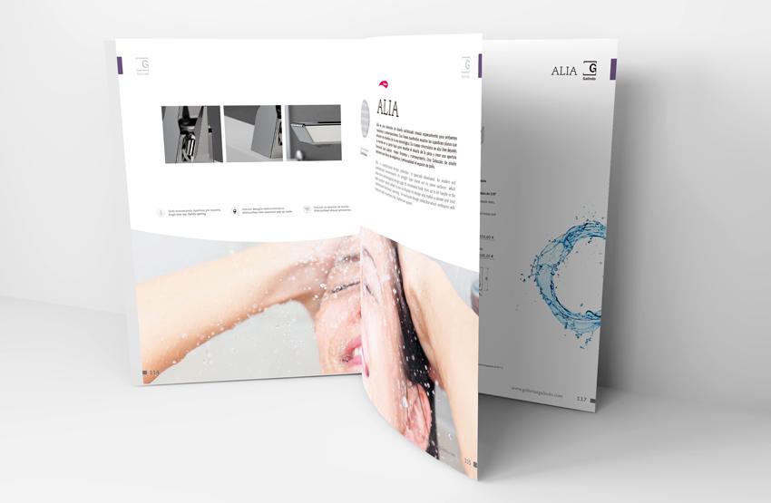 Griferia Vidrio Cascada Para Baño Diseno Elegancia:El Blog del Baño: Nueva colección Alia de Griferias Galindo