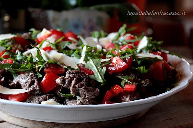 piatti freddi con carne e verdure