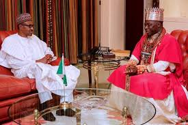 Olu of Warri pays visit to Buhari