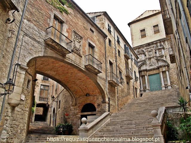 Escadas de Sant Martí, ponte seiscentista
