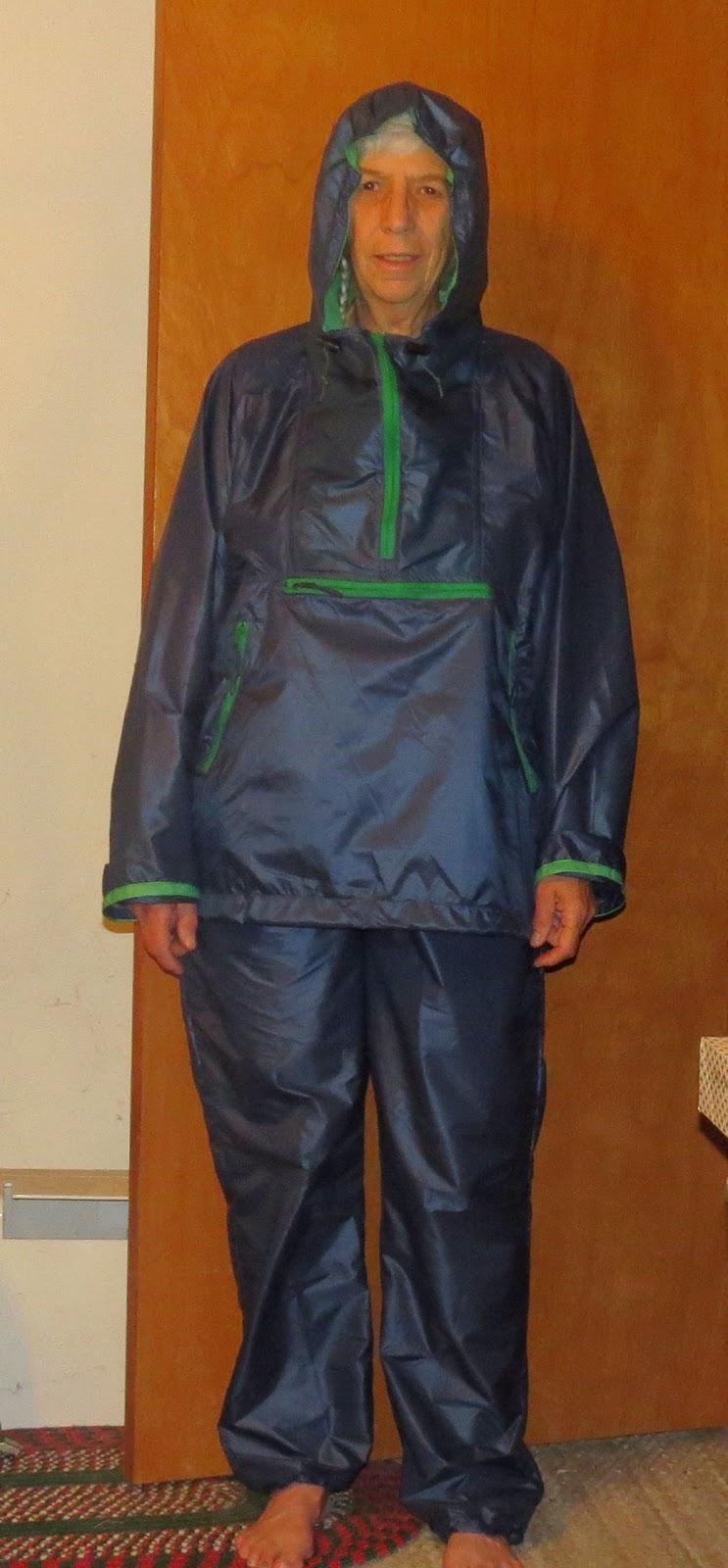nylon rain suit