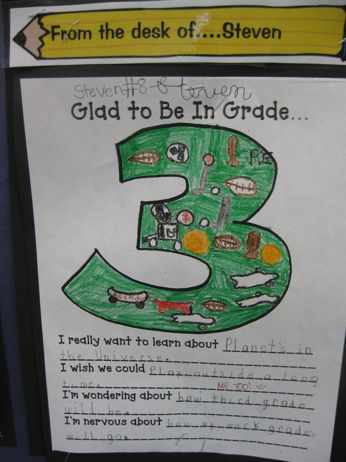 Third Grade Thinkers Writing In Third Grade