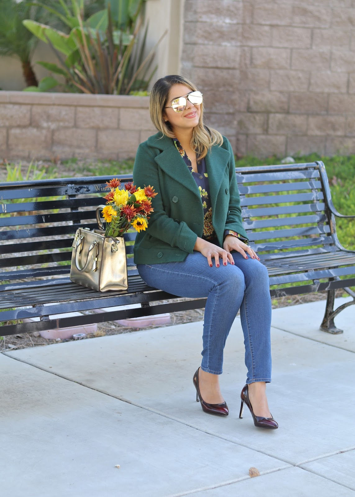Fashionable AND Comfortable Heels, San Diego Fashion Blogger, Quay x Desi Sunglasses