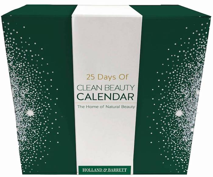 Holland and Barrett 25 Days of Clean Beauty Advent Calendar 2018