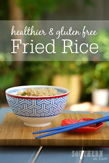 Healthy Single Serve Fried Rice Recipe Gluten Free