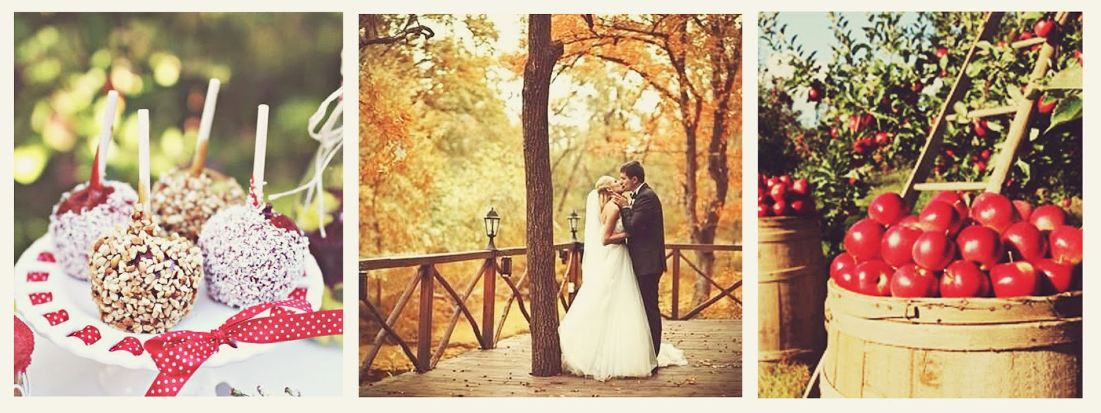 Something Borrowed: {Autumn Weddings} Apple Orchard ...