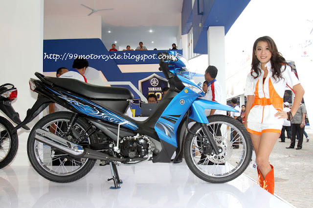 New 2011 Yamaha Vega ZR-blue Color Glossy