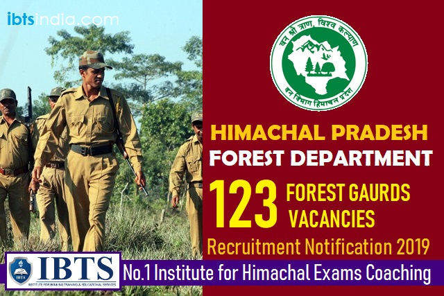 HP Forest Department Recruitment 2019: Apply Online for 123 Forest Guard Posts