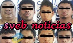 En Chiapas caen 8 delincuentes que operaban en Las Choapas Veracruz