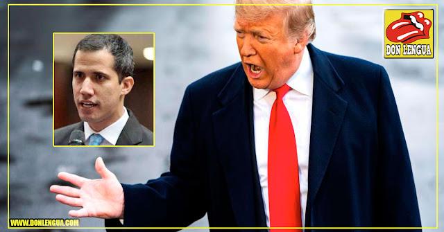 Trump a un paso de reconocer a Juan Guaidó como presidente y así echar a un lado a Maduro