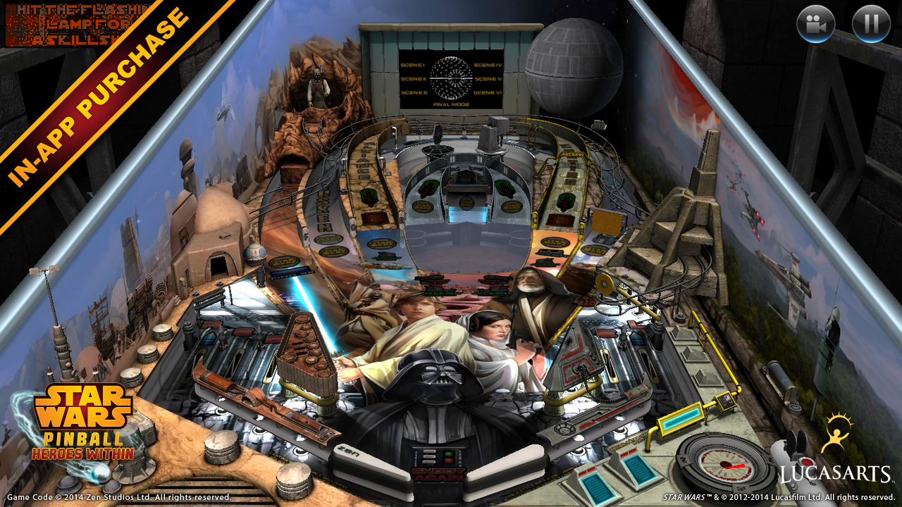Star Wars™ Pinball 4 v4.0.4 Cracked [Latest] | APK4Free.net