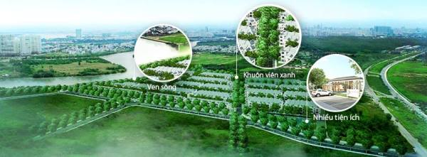 The project Nine South gold project of HO CHI MINH CITY real estate market