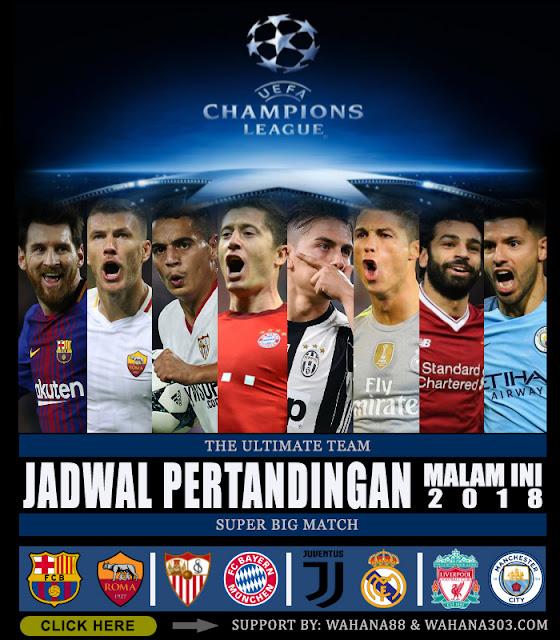 Jadwal Pertandingan dan Pasaran Bola, Sabtu 31 Maret 2018