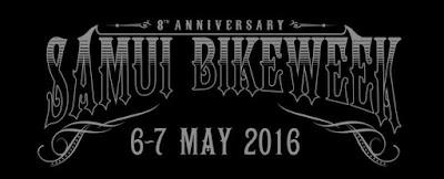 8th Samui Bike week, 6-7 May 2016