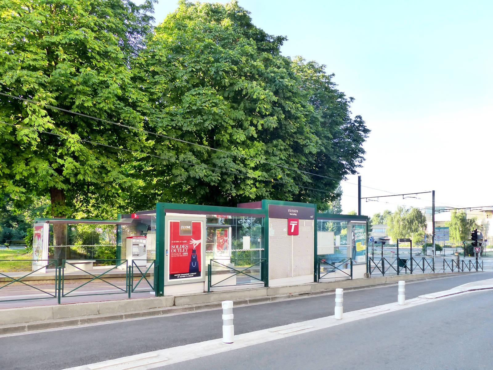 Station Tramway Victoire - Place de la Victoire, Tourcoing
