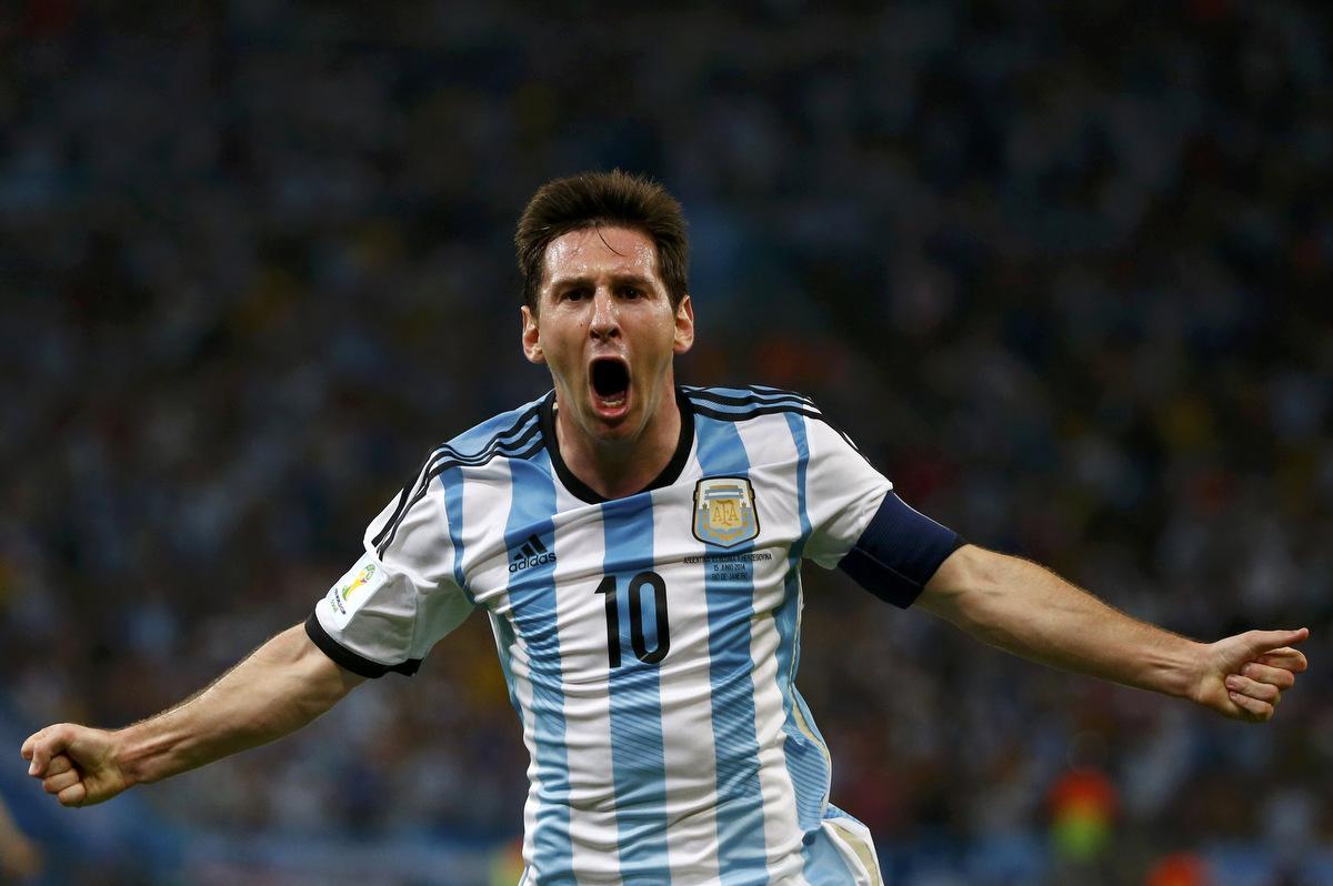 ميسي 2014 كأس العالم