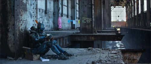 Sharlto Copley in Chappie