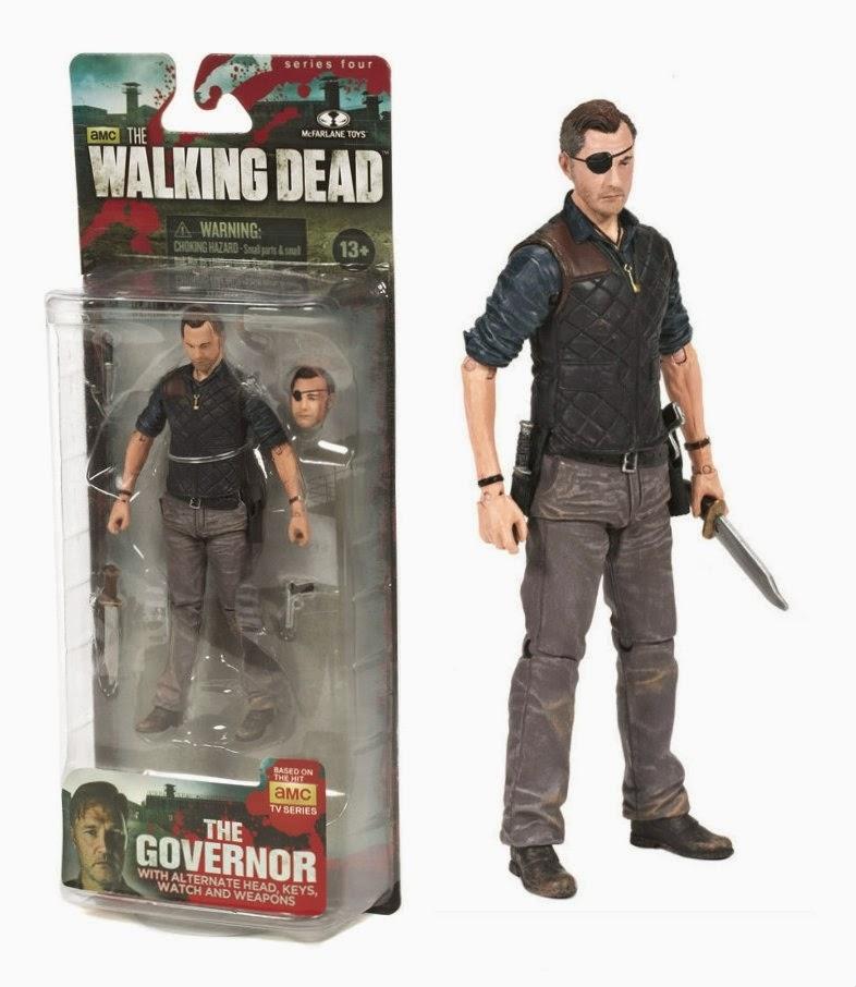 Governador McFarlane Action Figure Walking Dead