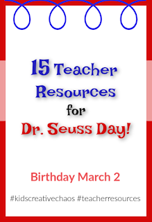 15 teacher resources for dr seuss day birthday bday dr suess