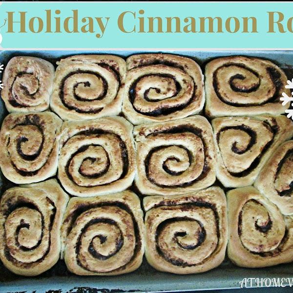 Holiday Cinnamon Rolls