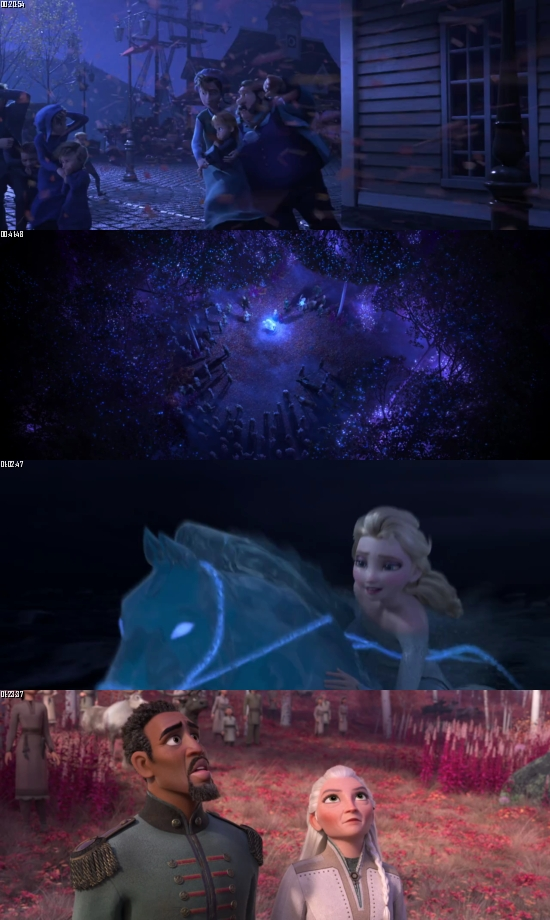 Frozen 2 (2019) BRRip 720p 480p Dual Audio Hindi English Full Movie Download